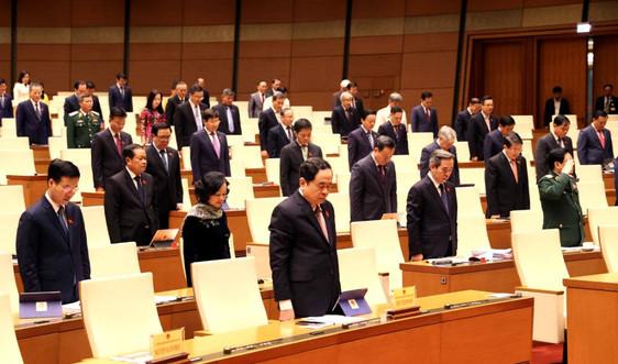 Quốc hội tưởng nhớ Thiếu tướng Nguyễn Văn Man, Đại biểu Quốc hội Khoá XIV tỉnh Quảng Bình