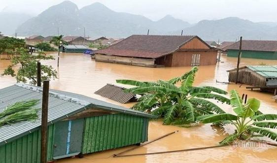 Dự báo thời tiết ngày 20/10: Miền Trung nhiều nơi vẫn ngập lụt