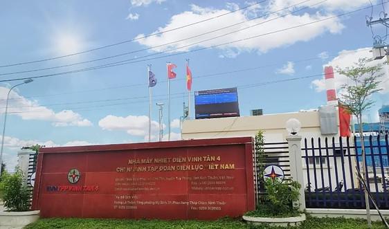 Nhiệt điện Vĩnh Tân 4 đưa vào sử dụng Bảng điện tử thông số môi trường