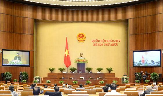 Quốc hội nghe giải trình, tiếp thu, chỉnh lý dự thảo Luật Biên phòng Việt Nam