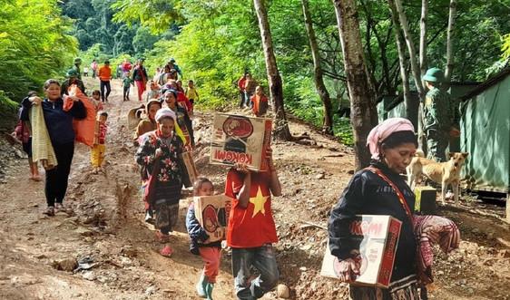 Nghệ An: Khẩn trương khắc phục hậu quả mưa lũ, chuẩn bị ứng phó bão số 8
