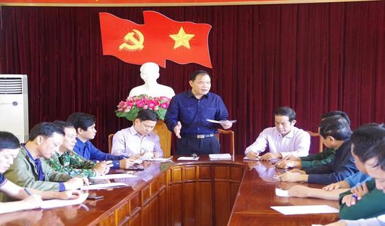 Quảng Bình: Bộ trưởng Nguyễn Xuân Cường kiểm tra công tác phòng chống, khắc phục hậu quả mưa lũ tại huyện Lệ Thủy