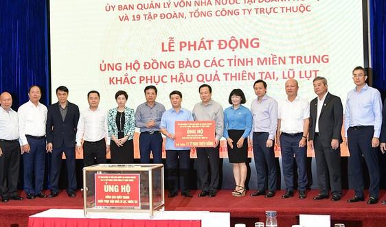 Petrolimex ủng hộ 2,4 tỷ đồng chia sẻ khó khăn với đồng bào miền Trung
