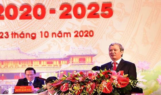 Khai mạc Đại hội đại biểu Đảng bộ tỉnh Thừa Thiên Huế lần thứ XVI, nhiệm kỳ 2020 - 2025