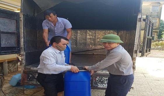 Sở TN&MT Quảng Bình: Hỗ trợ hóa chất xử lý nước sinh hoạt cho người dân vùng lũ