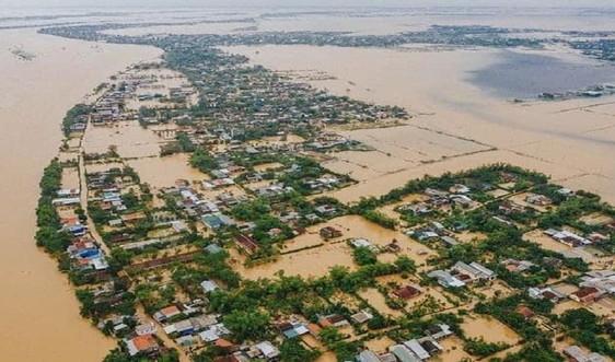 Quảng Bình: Trích gần 110 tỷ đồng cứu trợ khẩn cấp người dân ngập lụt
