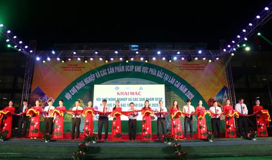 Khai mạc Hội chợ OCOP toàn miền Bắc tại Lào Cai