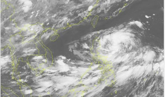 Áp thấp nhiệt đới  khả năng mạnh thành bão nối tiếp bão số 8