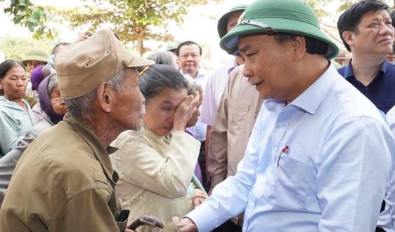 Thủ tướng: Xác định rõ những việc cần làm ngay để giúp dân sớm ổn định cuộc sống
