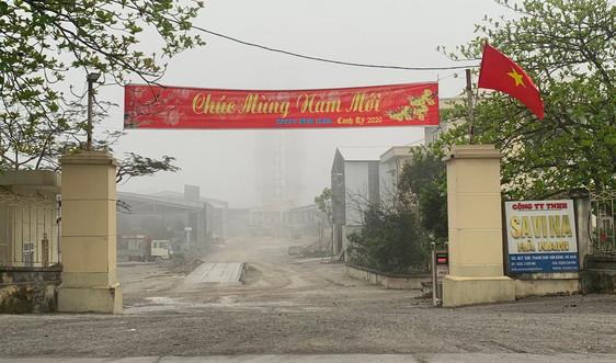 Hà Nam: Thanh tra Sở TN&MT đề nghị phong toả tài khoản của Công ty SAVINA để cưỡng chế xử phạt