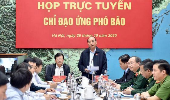 Thủ tướng họp khẩn ứng phó bão số 9
