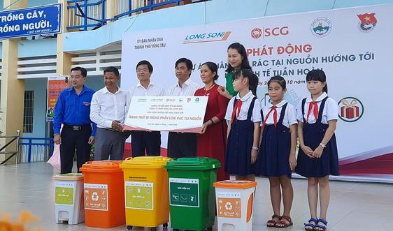 TP. Vũng Tàu: Tuyên truyền cho học sinh về phân loại rác thải tại nguồn