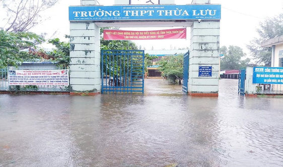 Thừa Thiên Huế cho học sinh nghỉ học từ chiều 27/10