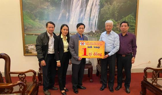 TKV trao 1 tỷ ủng hộ tỉnh Thừa Thiên Huế khắc phục thiệt hại do mưa lũ