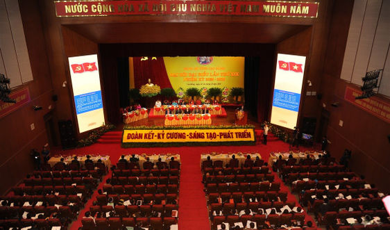 Khai mạc Đại hội đại biểu Đảng bộ tỉnh Cao Bằng lần thứ XIX