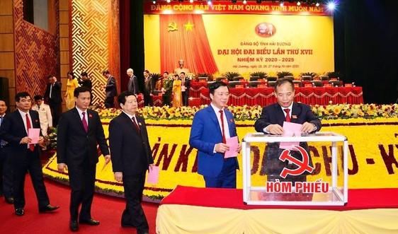 Đồng chí Phạm Xuân Thăng được bầu làm Bí Thư Tỉnh ủy Hải Dương