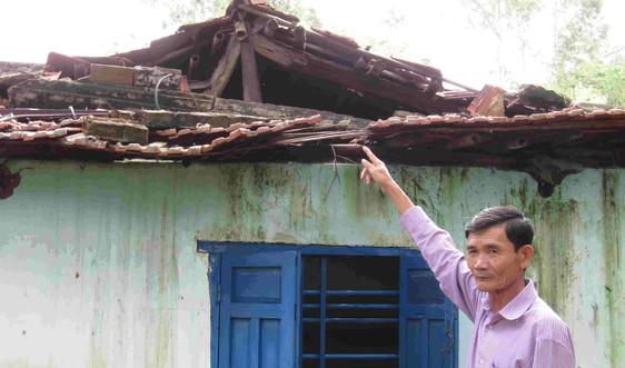 Bình Định di dời khẩn cấp 36 hộ dân núi Gành trước khi cơn bão số 9 đổ bộ