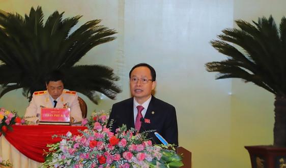 Ông Trịnh Văn Chiến tiếp tục chỉ đạo Đảng bộ tỉnh Thanh Hóa đến Đại hội Đảng lần thứ XIII