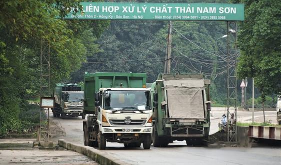 UBND TP Hà Nội đưa nhiều giải pháp cấp bách giải quyết tồn tại ở bãi rác Nam Sơn