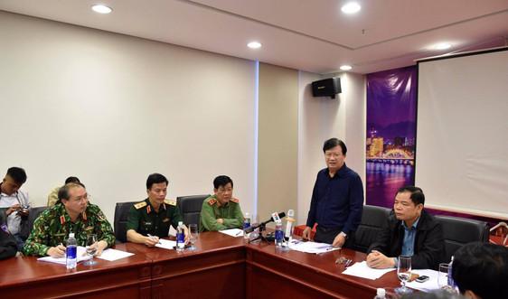 Bão đổ bộ, Phó Thủ tướng họp khẩn tại tiền phương