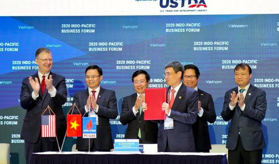 """PV GAS và Tập đoàn AES ký kết """"Thoả thuận các điều khoản chính của Hợp đồng liên doanh dự án kho cảng LNG Sơn Mỹ"""""""