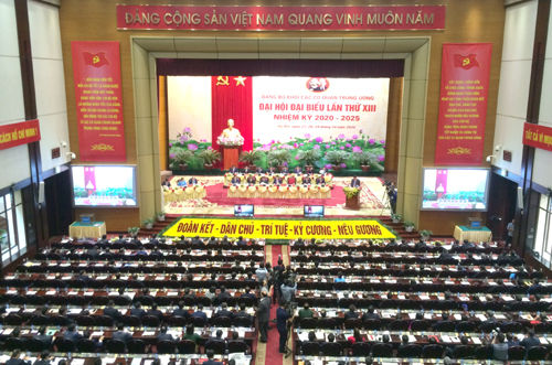 Khai mạc Đại hội đại biểu Đảng bộ Khối các cơ quan Trung ương