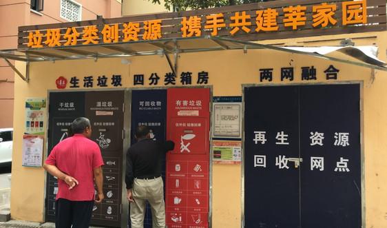 Kinh nghiệm phân loại rác bắt buộc tại Thượng Hải (Trung Quốc)