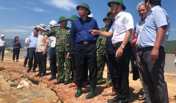 Ban Chỉ đạo TƯ về Phòng chống thiên tai kiểm tra việc khắc phục hậu quả bão số 9 tại Bình Định