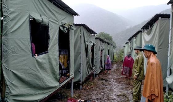 Nghệ An: Nguy cơ sạt lở, hàng trăm hộ dân tiếp tục được sơ tán