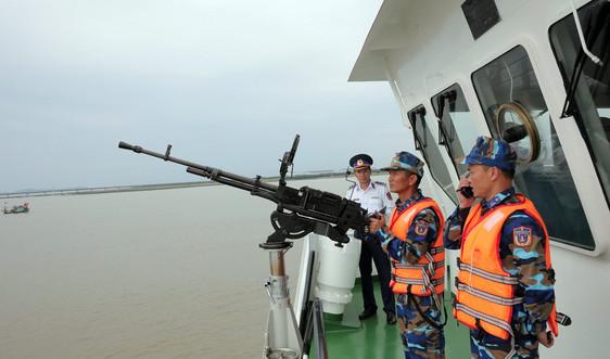 Tưng bừng ngày hội của những con tàu Cảnh sát biển trên thành phố cảng Hải Phòng