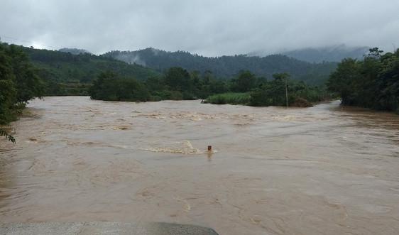 Nghệ An: Có 2 người mất tích vì mưa lũ, Tỉnh ủy ra Công điện khẩn