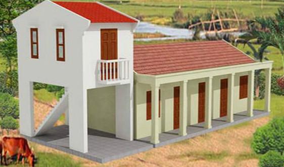 Sớm hoàn thiện chương trình hỗ trợ hộ nghèo xây nhà chống lũ khu vực miền Trung