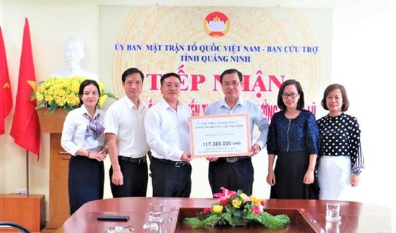 Công ty Điện lực Quảng Ninh chung tay ủng hộ đồng bào miền Trung
