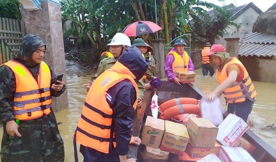 Nghệ An: Có 3 người chết, 3 người mất tích, hàng nghìn hộ dân đang bị ngập