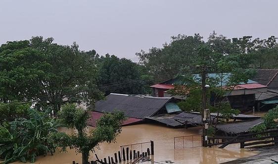 Nghệ An: Có 5 người chết và mất tích, hơn 12 nghìn ngôi nhà bị ngập