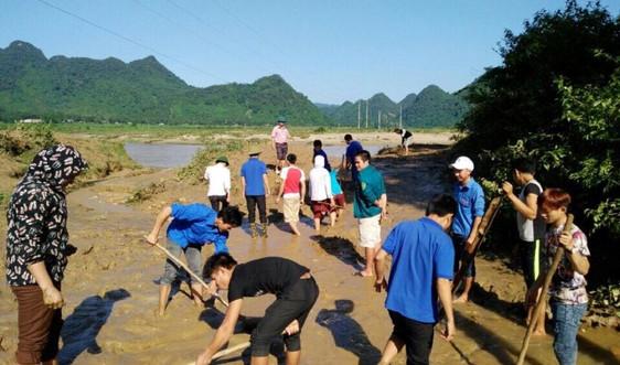 Nghệ An: Chỉ đạo khẩn trương khắc phục hậu quả mưa lũ