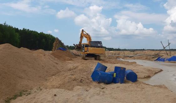 Bà Rịa - Vũng Tàu: Xử lý nghiêm hành vi khai thác khoáng sản trái phép