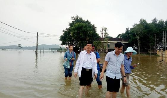 Nghệ An: Kiểm tra công tác y tế, vệ sinh môi trường sau lũ