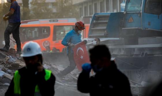 Thổ Nhĩ Kỳ: Động đất kinh hoàng 100 người chết, gần 1.000 người bị thương