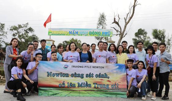 Trường phổ thông liên cấp Newton trao gần 300 triệu đồng cho nhiều trường học ngập lũ ở Thừa Thiên Huế