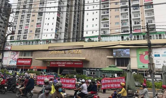 Đề nghị Công ty Sơn Thuận bàn giao kinh phí bảo trì cho Ban quản trị nhà chung cư Oriental Plaza