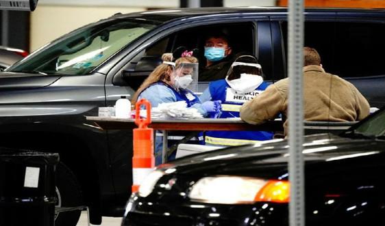 Số ca nhiễm COVID-19 ở Mỹ tăng cao trong ngày thứ 2 liên tiếp, hơn 120.000 ca