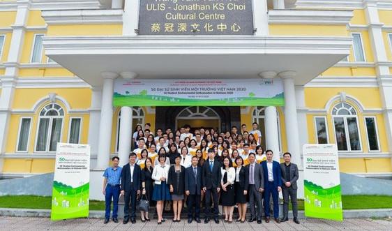 """Khởi động dự án """"50 Đại sứ Sinh viên Môi trường Việt Nam 2020"""""""