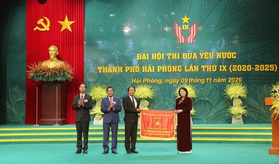 Đại hội Thi đua yêu nước TP Hải Phòng lần thứ IX: Tạo động lực mới, khí thế mới