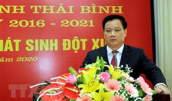 Thái Bình có tân Chủ tịch UBND tỉnh