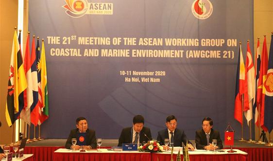 ASEAN thúc đẩy hợp tác chiến lược quản lý môi trường biển và đới bờ
