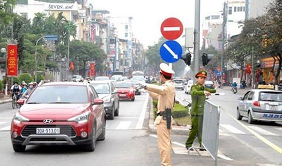 Từ 12/11, Hà Nội phân luồng giao thông phục vụ Hội nghị Cấp cao ASEAN 37