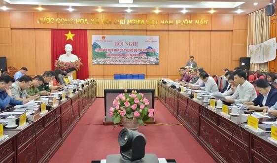 Hà Giang: Công bố quy hoạch chung đô thị đến năm 2035