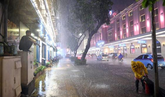 Dựbáo thời tiết ngày 11/11: Mưa lớn diện rộng ở Trung Bộ