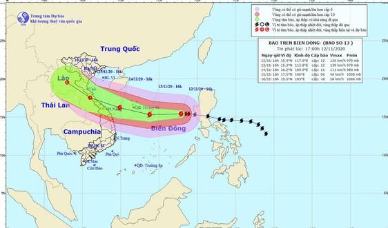 Nghệ An: Khẩn trương ứng phó với bão Vamco